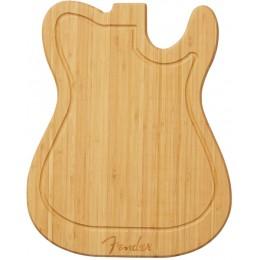 Fender Bamboo Tele Chopping Cutting Board