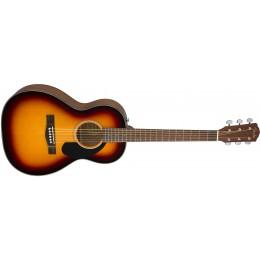 Fender CP-60S Sunburst Acoustic Parlour Guitar Angle