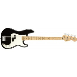 Fender-Player-Precision-Bass-Black-Front