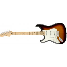 Fender-Player-Stratocaster-Left-Handed-3-Colour-Sunburst-Maple-Front