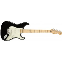 Fender-Player-Stratocaster-Maple-Fingerboard-Black-Front