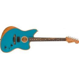 Fender American Acoustasonic Jazzmaster Ocean Turquoise Front