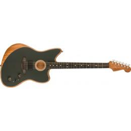 Fender American Acoustasonic Jazzmaster Tungsten Front