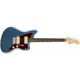 Fender American Performer Jazzmaster Satin Lake Placid Blue Front