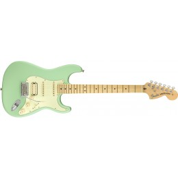 Fender American Performer Stratocaster HSS Satin Surf Green Front