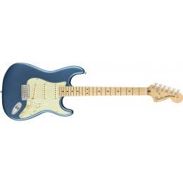Fender American Performer Stratocaster Satin Lake Placid Blue Front