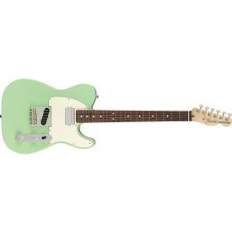 Fender American Performer Telecaster Hum Satin Surf Green Front