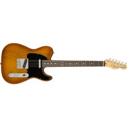Fender American Performer Telecaster Rosewood Fingerboard Honey Burst Front