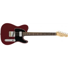 Fender American Performer Telecaster with Humbucker Rosewood Fingerboard Aubergine Front