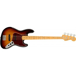 Fender American Professional II Jazz Bass 3-Colour Sunburst Maple Front