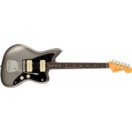 Fender American Professional II Jazzmaster Mercury Front