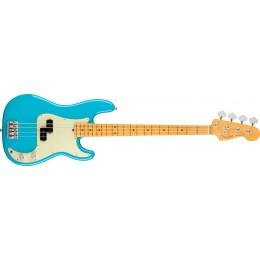 Fender American Professional II Precision Bass Miami Blue Maple Front