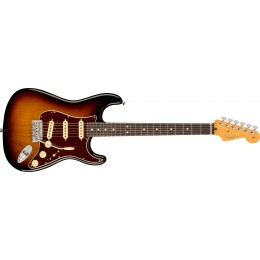Fender American Professional II Stratocaster 3-Colour Sunburst Rosewood Front