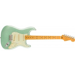 Fender American Professional II Stratocaster Mystic Surf Green Maple Front