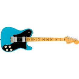 Fender American Professional II Telecaster Deluxe Miami Blue Front