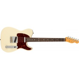 Fender American Professional II Telecaster Olympic White Rosewood Front