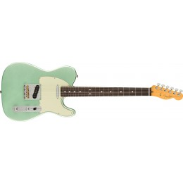 Fender American Professional II Telecaster Mystic Surf Green Rosewood Front