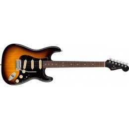 Fender American Ultra Luxe Stratocaster 2-Colour Sunburst Rosewood Front