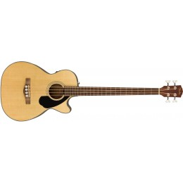 Fender CB-60SCE Natural Acoustic Bass Guitar Front