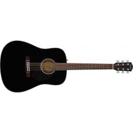 Fender CD-60S Acoustic Guitar Black Front