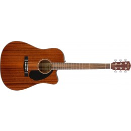 Fender CD-60SCE All-Mahogany Electro Acoustic Guitar Front