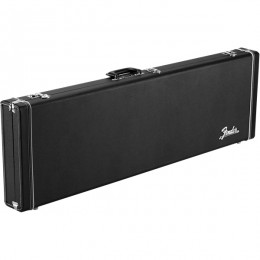 Fender Classic Series Wood Case Mustang Duo Sonic Black Front