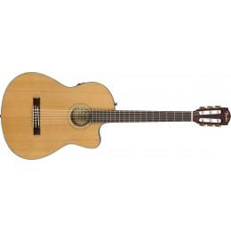 Fender CN-140SCE Nylon Thinline Electro-Acoustic Guitar Front