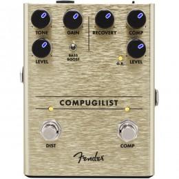 Fender Compugilist Compressor Distortion Pedal Front