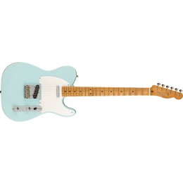 Fender Limited Edition Vintera Road Worn '50s Telecaster Sonic Blue Front