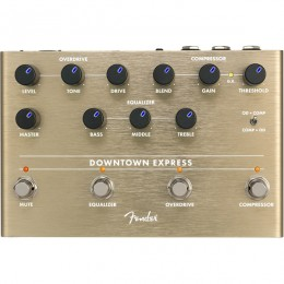 Fender Downtown Express Bass Multi Effect Pedal Front