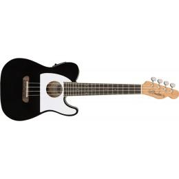 Fender Fullerton Tele Ukulele Black Front