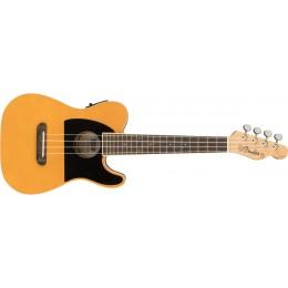 Fender Fullerton Tele Ukulele Butterscotch Blonde Front