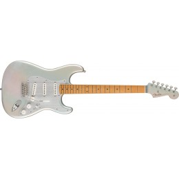 Fender HER Stratocaster Chrome Glow Maple Front