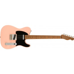 Fender Limited Edition Vintera 50s Telecaster Modified Shell Pink with Roasted Maple Neck Front