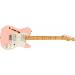 Fender Limited Edition Vintera 70s Telecaster Thinline Shell Pink Front