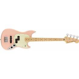 Fender Limited Edition Player Mustang Bass PJ Shell Pink Front