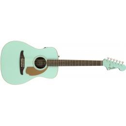Fender Malibu Player Aqua Splash Front