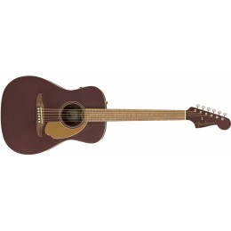 Fender Malibu Player Burgundy Satin Front