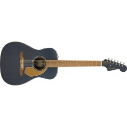 Fender Malibu Player Midnight Satin Front