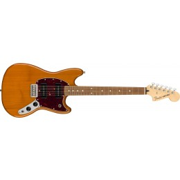 Fender Mustang 90 Aged Natural Front