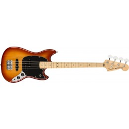 Fender Player Mustang Bass PJ Sienna Sunburst Front