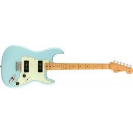 Fender Noventa Stratocaster Maple Fingerboard Daphne Blue Front