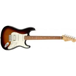 Fender Player Stratocaster HSS 3-Colour Sunburst Pau Ferro Front