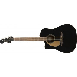 Fender Redondo Player Left Handed Jetty Black Front