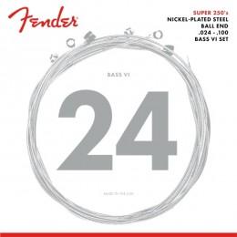 Fender Super 250 Bass VI Strings NPS Ball End