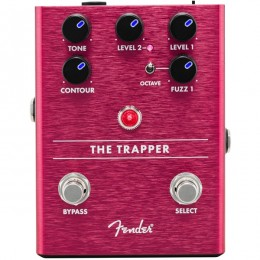 Fender The Trapper Dual Fuzz Pedal Front
