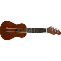 Fender Venice Soprano Ukulele Natural Front
