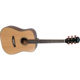 Freshman FA250D Acoustic Guitar with Hard Case