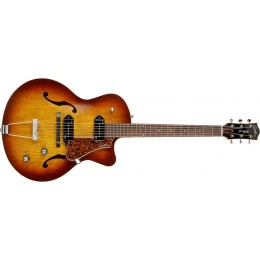 Godin 5th Avenue CW Kingpin II Cognac Burst Semi Acoustic Guitar