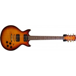Gordon-Smith-GS-Deluxe-Heritage-Mahogany-Cognac-Burst-Gold-Hardware-Front